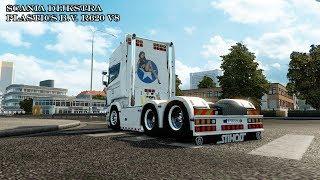 Download Euro Truck Simulator 2 # Scania DIJKSTRA PLASTICS B.V. R620 V8 (แต่งรถกันเถอะ # 39 ) Video