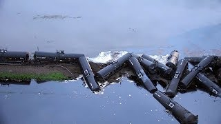 Download Crude oil spill cleanup continues in Iowa Video