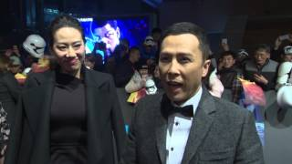 Download Star Wars: The Force Awakens: Donnie Yen Shanghai China Premiere Interview Video