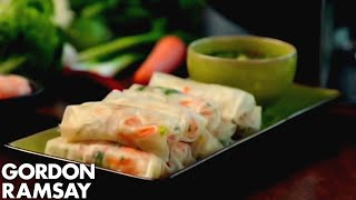 Download Fresh Prawn Rolls - Gordon Ramsay Video