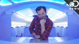 Download How Airplanes Are Designed To Feel Bigger On The Inside Video