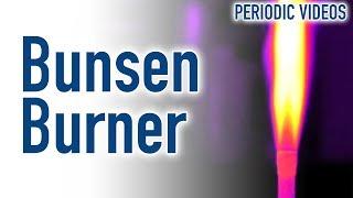 Download Bunsen Burner (THERMAL IMAGING) - Periodic Table of Videos Video
