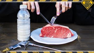 Download We Tried Sandblasting Steak Video
