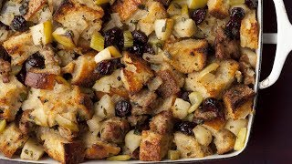 Download How to Make Ina's Sausage and Herb Stuffing | Food Network Video