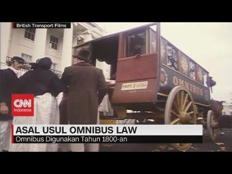 Asal-Usul Omnibus Law