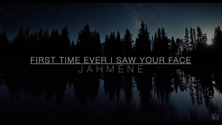 Download Roberta Flack 'First Time Ever I Saw Your Face' By Jahméne Video
