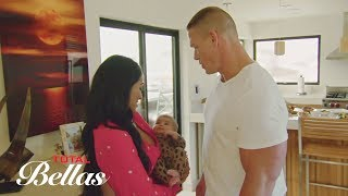 Download John Cena meets The Bella Twins' niece for the first time: Total Bellas, Sept. 6, 2017 Video