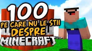 Download 100 DE LUCRURI PE CARE NU LE ȘTII DESPRE MINECRAFT Video