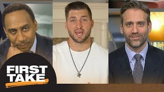 Download Stephen A., Max and Tim Tebow react to College Football Playoff championship | First Take | ESPN Video
