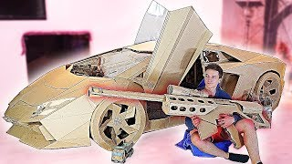 Download 10 AMAZING CARDBOARD PRODUCTS LAMBORGINI, BASKETBALL AND OTHER Video