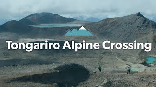 Download The Tongariro Alpine Crossing: Alpine Tramping (Hiking) Series | New Zealand Video