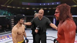 Download Bigfoot vs. Bruce Lee (EA Sports UFC 2) - CPU vs. CPU Video