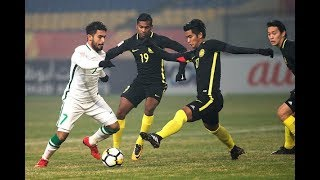 Download Saudi Arabia 0-1 Malaysia (AFC U23 Championship 2018: Group Stage) Video