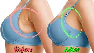 Download How to Get Rid of Side Breast Fat Fast with 5 Easiest Exercises Remove Armpit Fat NOW! Video