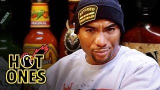 Download Charlamagne Tha God Gets Heated Eating Spicy Wings | Hot Ones Video