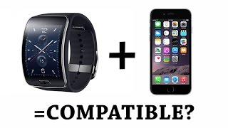 Download Use Samsung Gear S with iPhone 6 Plus or ANY other Non Samsung Smartphone Video