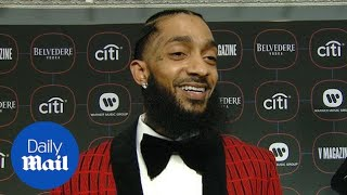 Download Nipsey Hussle talks about his Grammy nomination in February Video