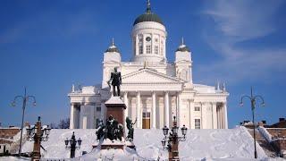 Download Winter Helsinki & Christmas Helsinki in Finland - tourism - Helsingin joulu & talvi - Suomi Video