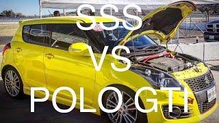 Download Suzuki Swift Sport vs VW Polo GTI | Track Battle | Track Day | + Flying Lap Video
