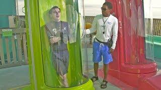 Download POV - INSIDE Vanish Point Water Slide at Adventure Island Water Park Video
