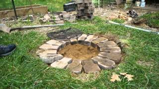 Download Building a Cheap Firepit Video