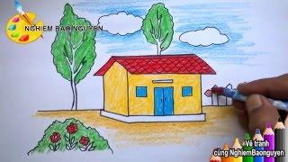 Download Vẽ tranh ngôi nhà/How to Draw House Video