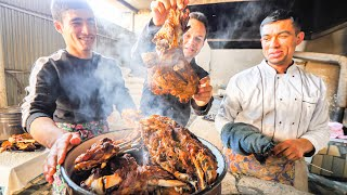 Download Street Food on the SILK ROAD - INSANE 1000 Person PLOV COOKING in Uzbekistan + TANDOORI MEAT CAVE!!! Video