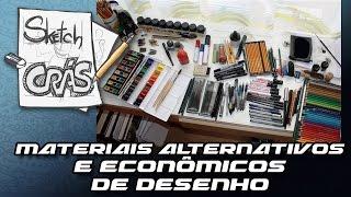 Download Materiais alternativos e econômicos de desenho - Sketch Crás Video