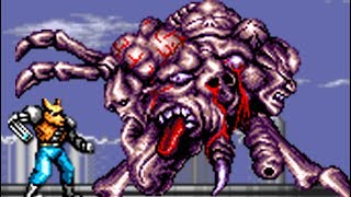 Download Contra: Hard Corps (Genesis) All Bosses (No Damage) Video