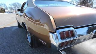 Download 1972 Olds Cutlass S Gold for sale at www coyoteclassics com Video