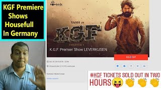 Download KGF Premiere Tickets SOLD OUT In GERMANY IN 2 Hours I Craze Of Rocking Star YASH Video