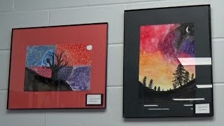 Download In Focus: Cass Lake-Bena Students' Artwork On Display At NTC Video