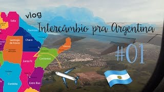 Download Vlog - INTERCÂMBIO pra ARGENTINA #01 Video