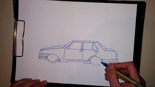 Download Kolay Araba Çizimi Video
