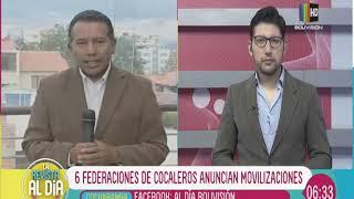 Download Seis federaciones de cocaleros anuncian movilizaciones Video