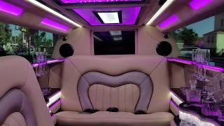 Download 2017 Black 140-inch Lincoln Continental Limousine for sale #1041 Video