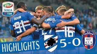 Download Sampdoria - Crotone 5-0 - Highlights - Giornata 9 - Serie A TIM 2017/18 Video