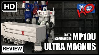 Download KO Transformers Masterpiece MP10U Ultra Magnus and Trailer Video
