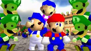 Download SM64 bloopers: Luigi Labyrinth Video