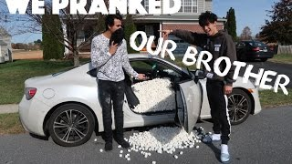 Download WE PRANKED OUR BROTHER! Video