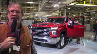 Download 2020 Chevrolet Heavy Duty factory tour in Flint, Part one engineer interviews Video