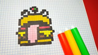 Como Dibujar A Pikachu Para Minecraft Pixel Art Free Download