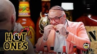 Download Riff Raff Goes Full Burly Boy on Some Spicy Wings | Hot Ones Video