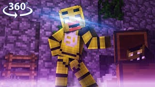 Download 360° Five Nights At Freddy's - TOY CHICA VISION - Minecraft 360° Video Video