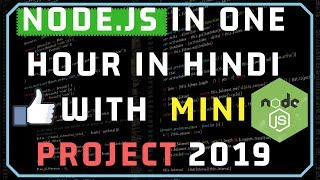 Download Node.JS in One Video in Hindi with One Mini Project 2019 Video