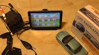 Download 7″ Car GPS with Wireless Reversing Camera Video