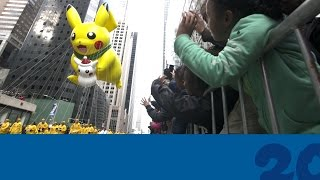 Download Celebrate #Pokemon20 with the Pikachu Balloon at the 2016 Macy's Thanksgiving Day Parade! Video