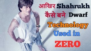 Download How Shahrukh Khan become dwarf , the technology behind ZERO movie Video