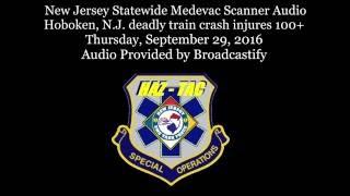 Download Scanner Audio Hoboken, N.J. deadly train crash injures 100+ Video