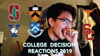 Download COLLEGE DECISION REACTIONS 2019: Princeton, Yale, Columbia, Stanford, USC, & UT Austin Video